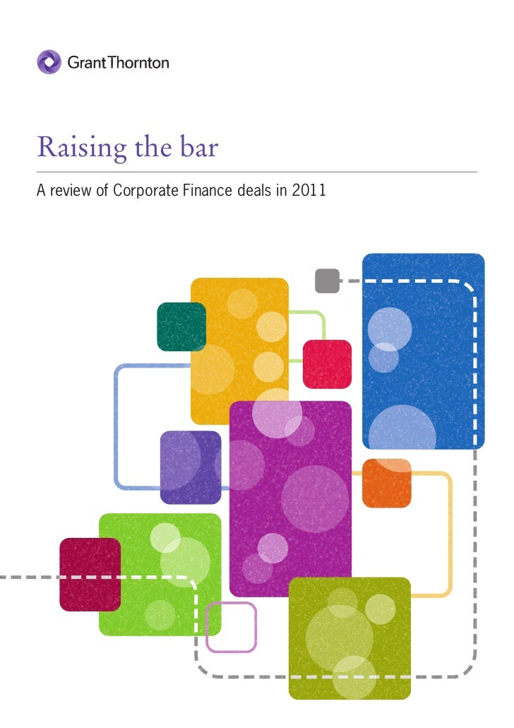 Raising the barA review of Corporate Finance deals in 2011