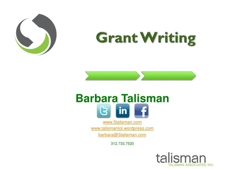 Getting It Right! Grant Research and Writing