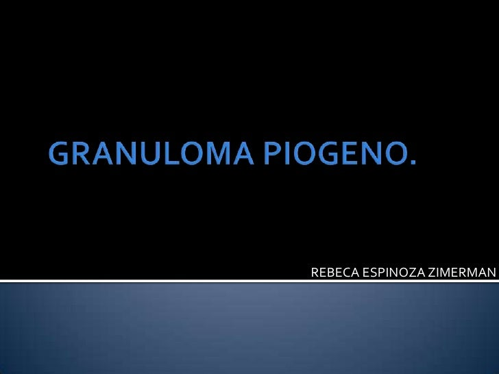 Granuloma piogeno[1]