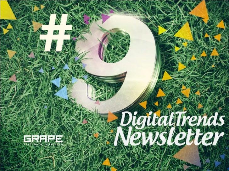 """Друзья, представляем вам 9-й Digital Trends Newsletter. Рады объявить всем подписчикам о партнерстве с Фондом """"Общественно..."""