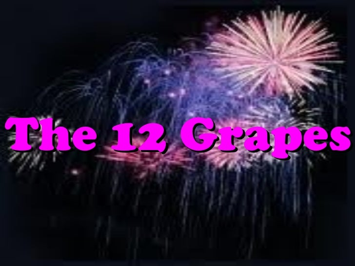 Grapes tradition