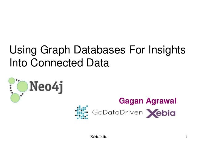 Using Graph Databases For Insights Into Connected Data  Gagan Agrawal  Xebia India  1