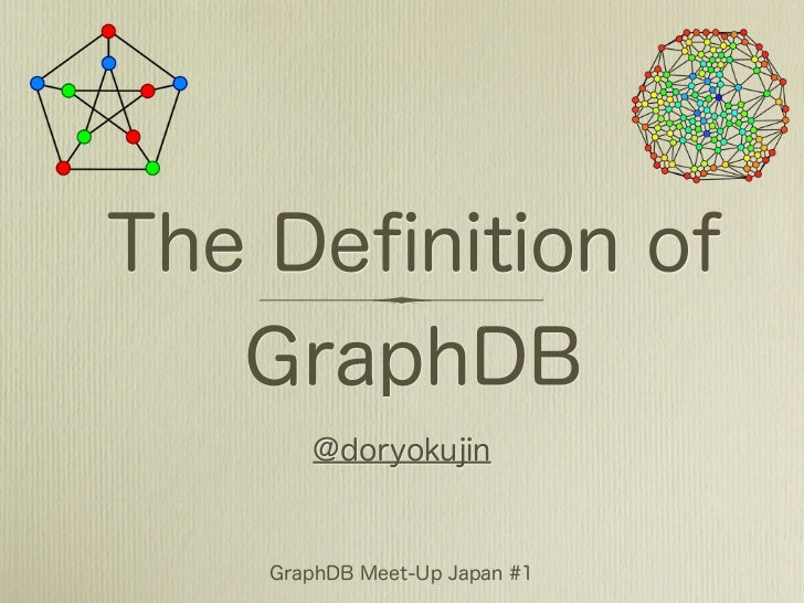 The Definition of GraphDB
