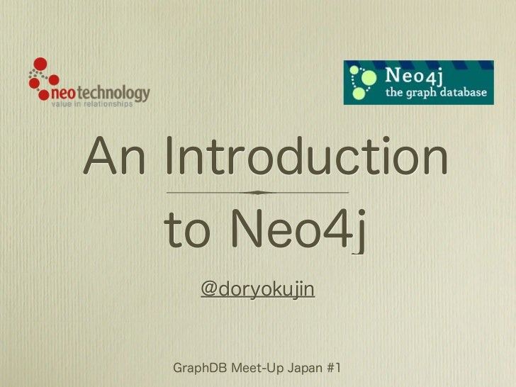 An Introduction to Neo4j