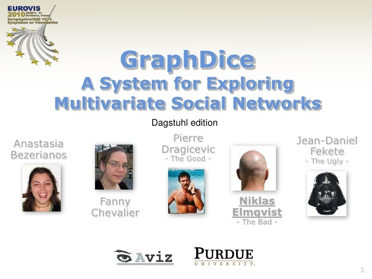 GraphDice: A System for Exploring Multivariate Social Networks