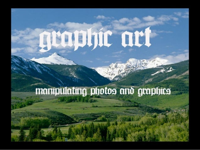 1. To provide hands-on experience with a graphics and photo editing program. 2. To demonstrate how to create a personal ph...