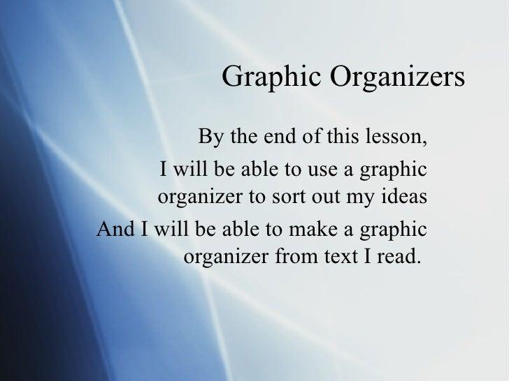 Graphic Organizers Powerpoint