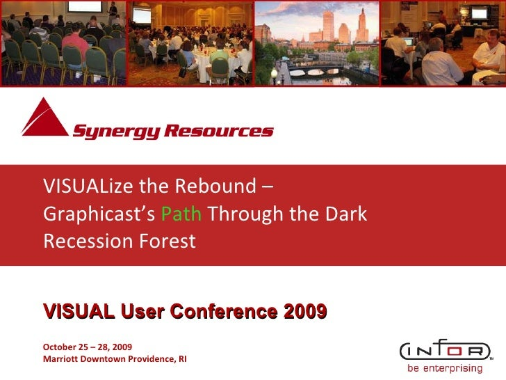 VISUALize the Rebound –  Graphicast's  Path  Through the Dark Recession Forest