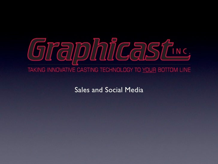 Graphicast Sales
