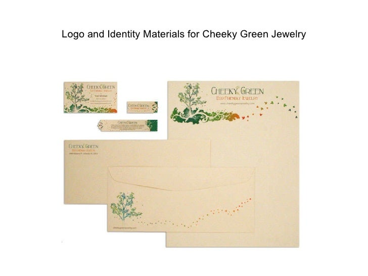 Logo and Identity Materials for Cheeky Green Jewelry