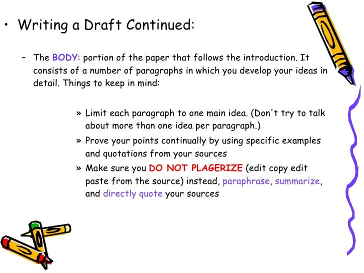 the steps in writing a structured paper Step 6 - writing the paper goal the checklist asks some general questions to help you step back and take a look at the overall content and structure of the paper.
