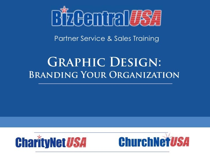 Partner Training: Graphic Design & Branding
