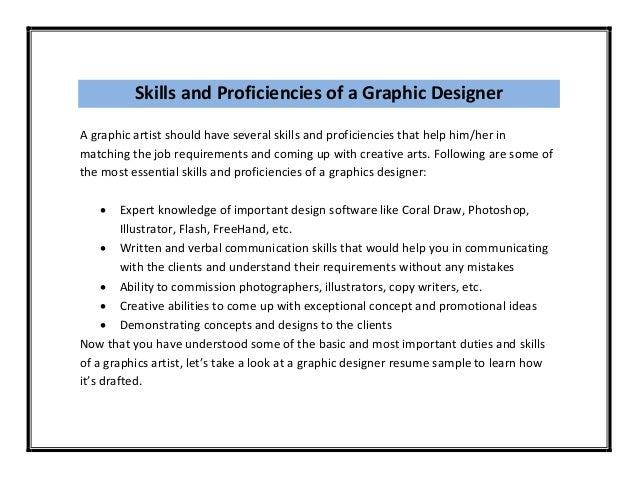 Graphic Design Job Description Sample Graphic Design Resume Sample Amp  Writing Guide Rg Graphic Designer Resume Example Good Resume Sample Graphic  Design ...