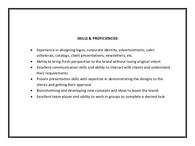 Online Writing Lab & Graphic Design Resume Without Experience