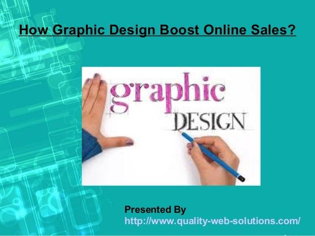 How Graphic Design Boost Online Sales?