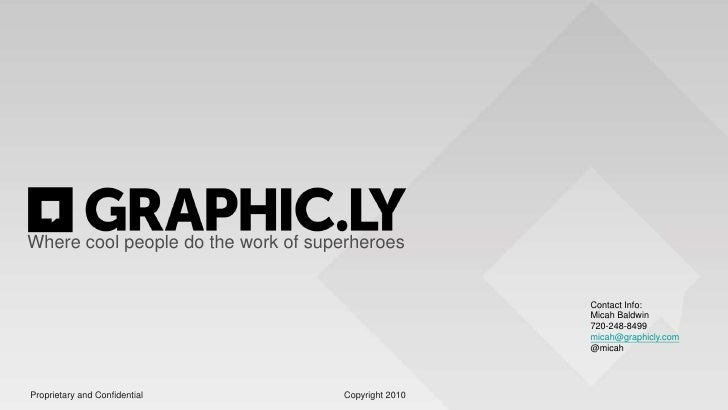 Graphicly - Techstars SmackDown