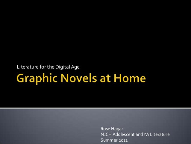 Graphic novels at home