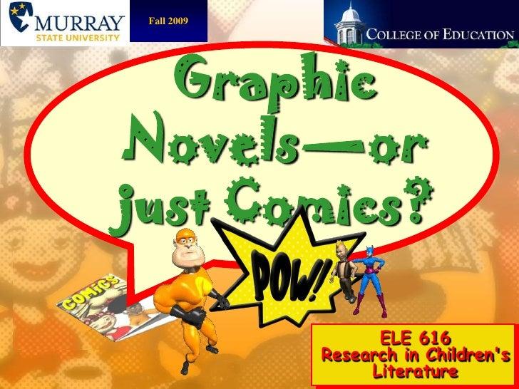 Graphic novels elementary 2007
