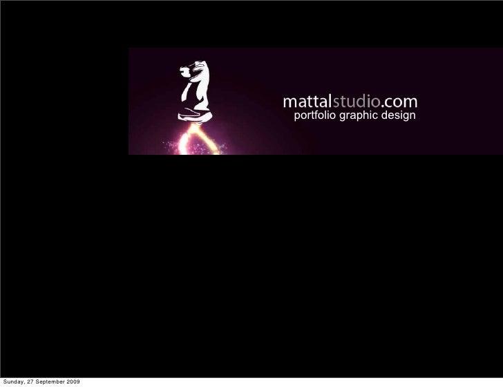 portfolio graphic design     Sunday, 27 September 2009
