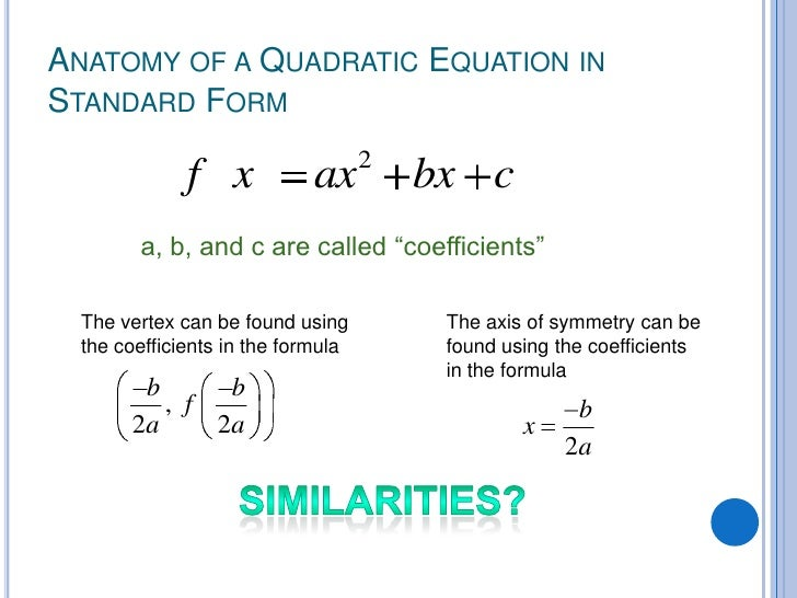 Graphing Quadratic Equations In Standard Form Worksheet Pdf 4025674
