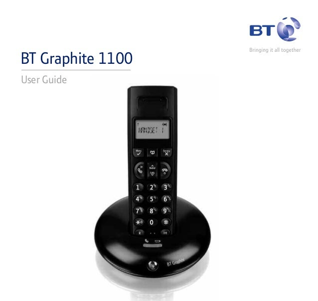 BT Graphite 1100 User Guide