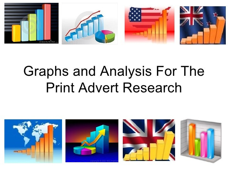 Graphs and Analysis For The Print Advert Research