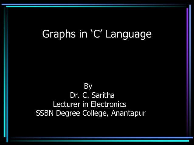 Graphs in c language