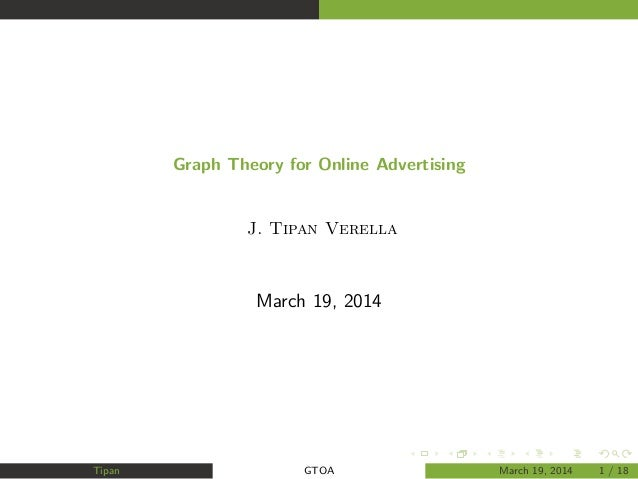 Graph Theory for Online Advertising