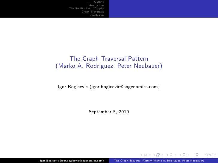 The Graph Traversal Pattern