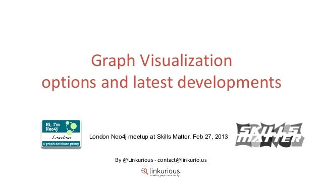 Graph visualization options and latest developments