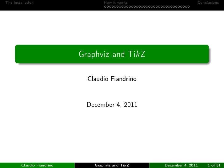Graphviz and TikZ