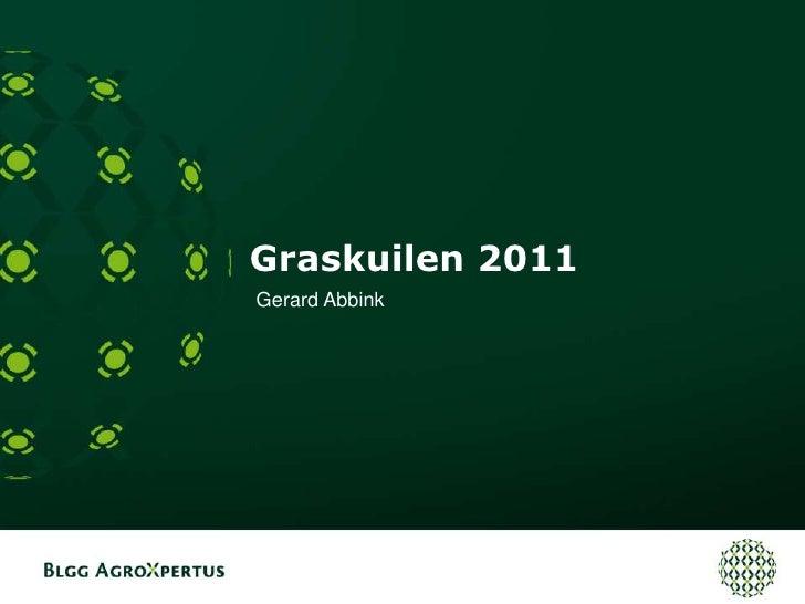 Graskuilen 2011<br />Gerard Abbink<br />