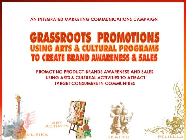 Product promotion in communities becomes more inviting as we use Entertainment Marketing as a promo vehicle. It gives prod...