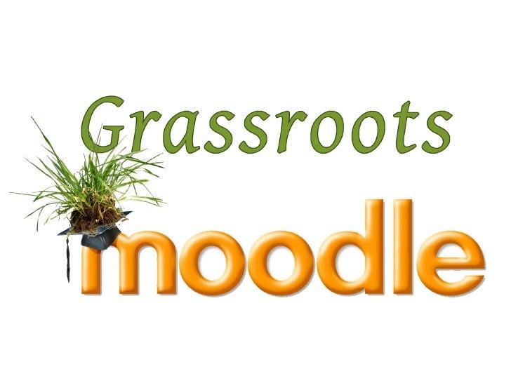 Grassroots moodle - Mitja Podreka