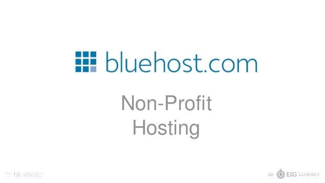 Non-Profit Hosting