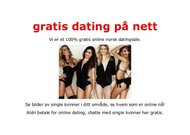 gratis sex dating kontaktannonse på nett