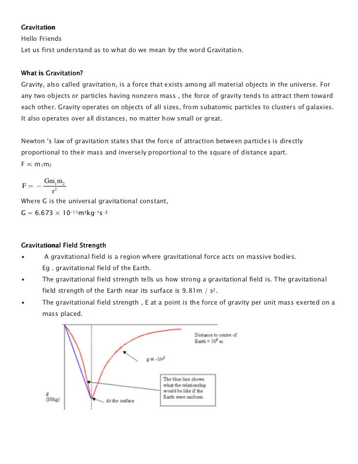 GravitationHello FriendsLet us first understand as to what do we mean by the word Gravitation.What is Gravitation?Gravity,...
