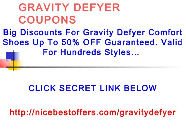 Defy gravity coupon code