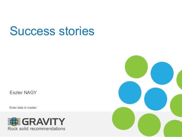 Success storiesEszter NAGYEnter date in master