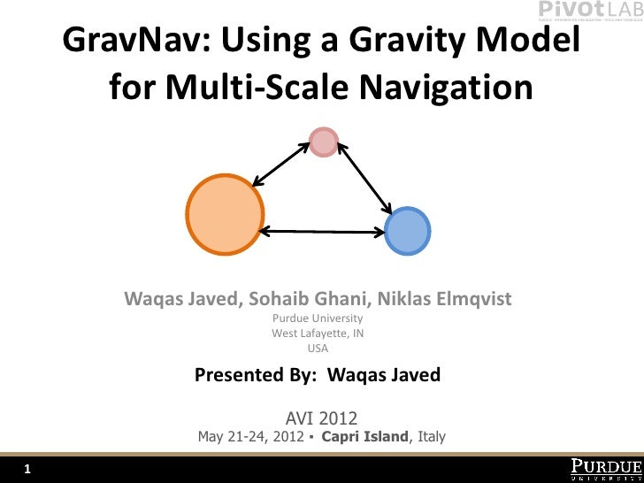 Gravity Navigation