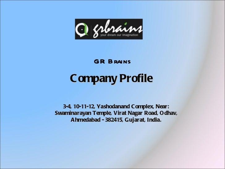 Gr brains   ecommerce development company