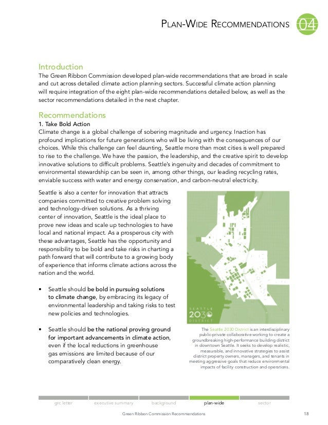 Grc report plan-wide
