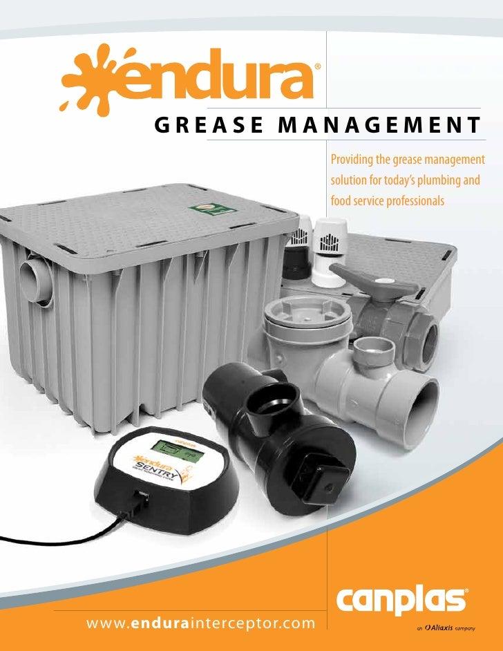 Grease managment brochure