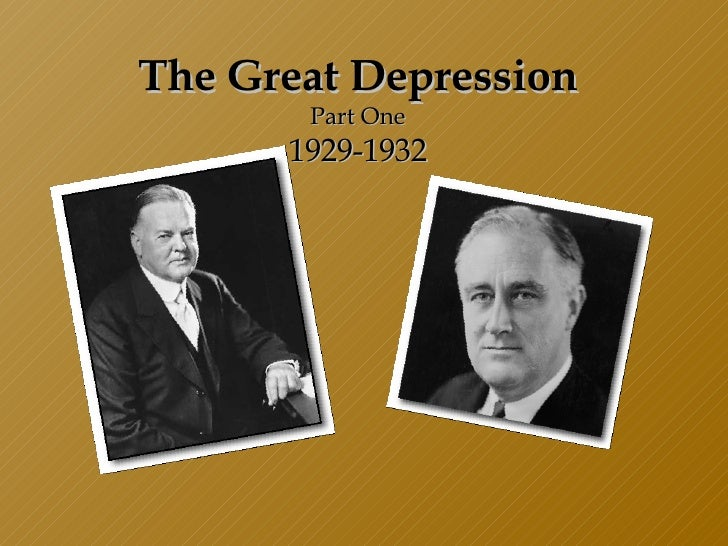 Great Depression Lesson
