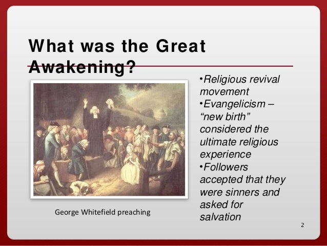 "the great awakening religion rose to The great awakening was an evangelical christian revival in the american  colonies prior to the american revolution, influencing religion, society, politics   and it was an ""awakening"" because it led to increased spiritual life."