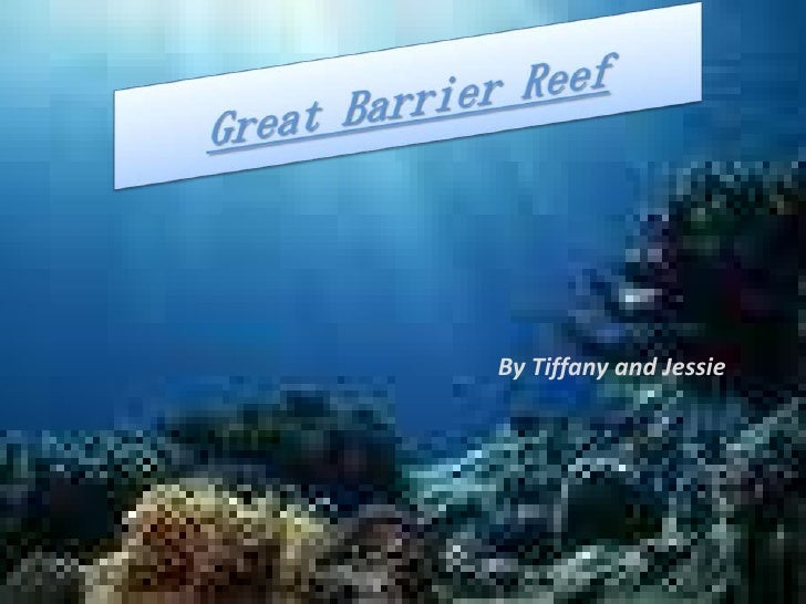 Great barrier reef By Tiffany and Jessie