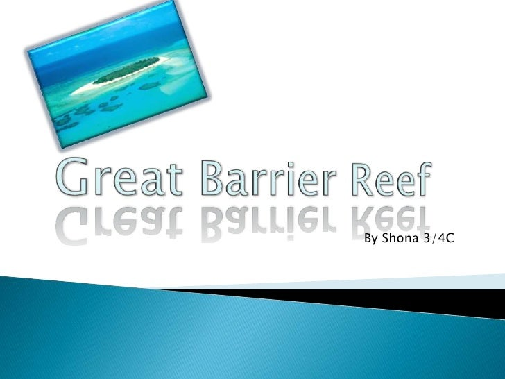 Great barrier reef By Shona