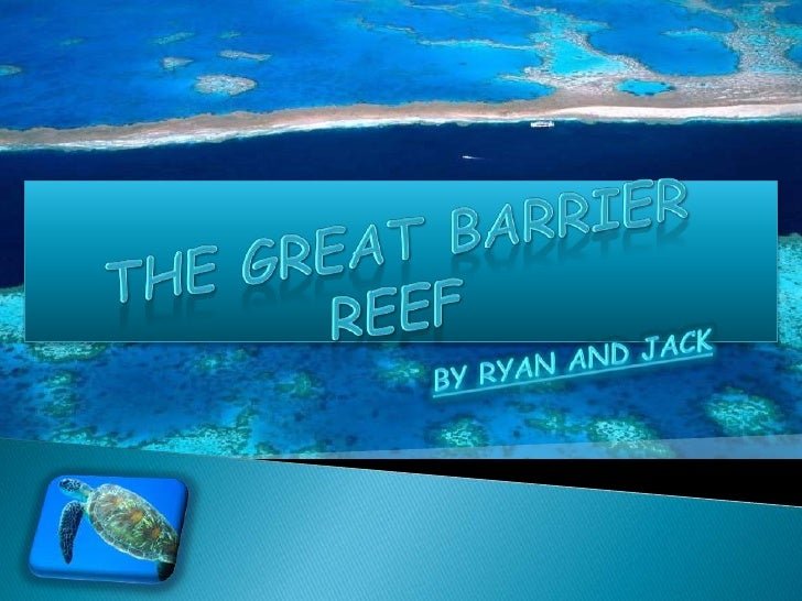 THE GREAT BARRIER REEF<br />BY RYAN AND JACK<br />