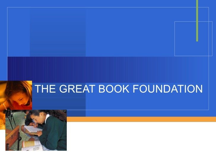 THE GREAT BOOK FOUNDATION