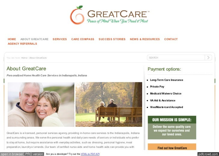 HOME       ABOUT GREATCARE             SERVICES         CARE COMPASS             SUCCESS STORIES       NEWS & RESOURCES   ...